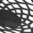 Wired Lace Platter (small | black) | Detail view