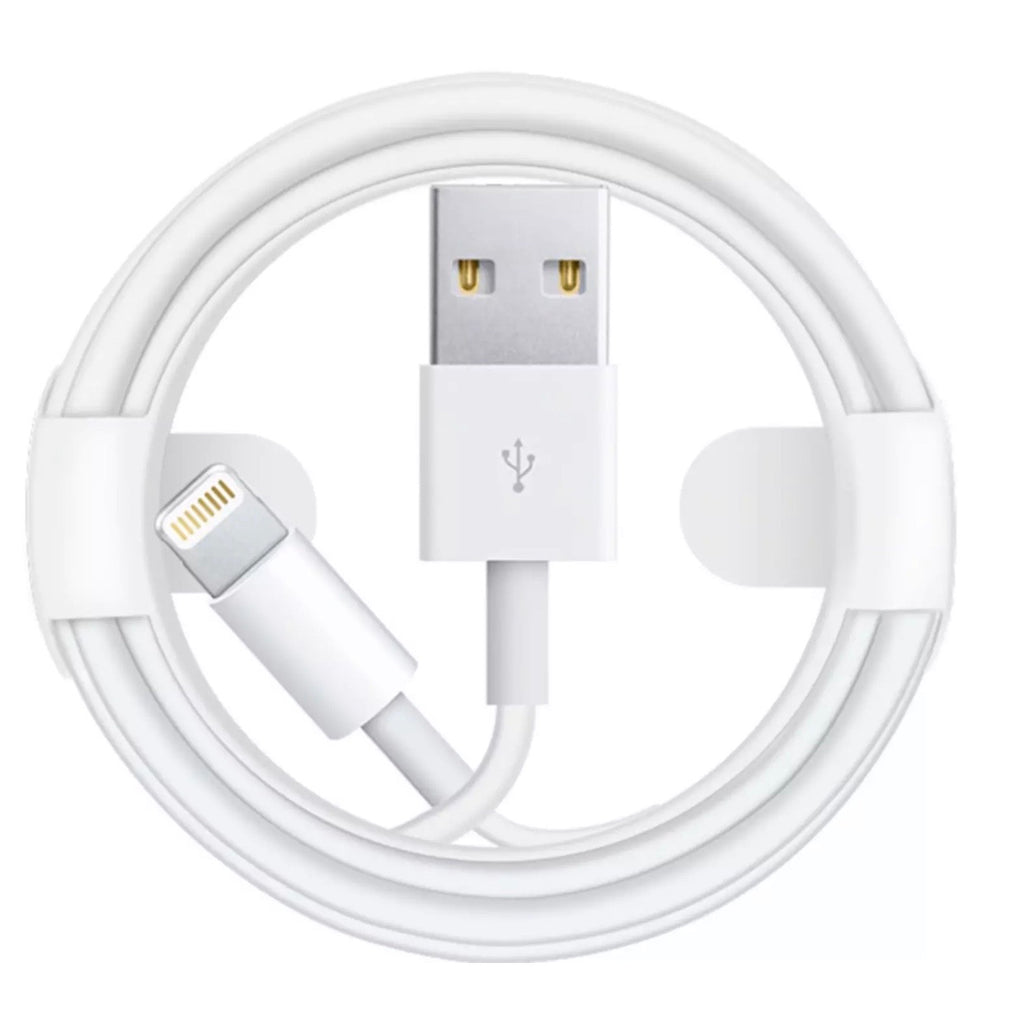 3.3' USB Type A-to-Lightning Charging Cable - White