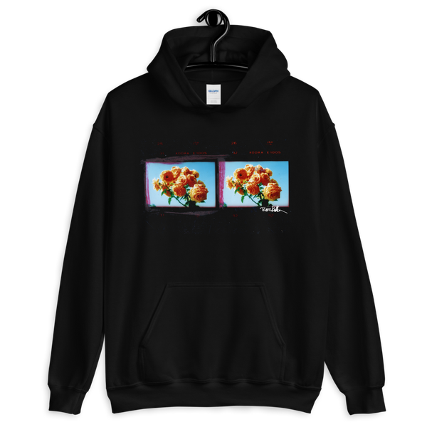 Hollywood Rose hoodie by Travis Keller