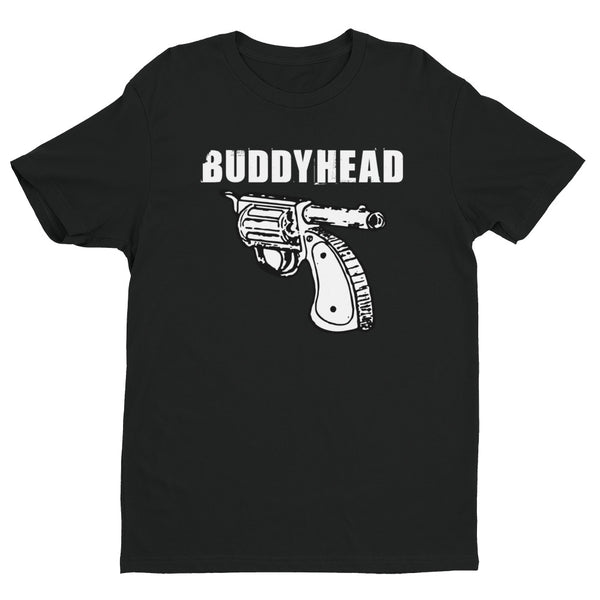 Buddyhead Backwards Gun Logo tee (Next Level)