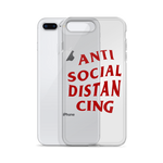 ANTI-SOCIAL iPhone Case