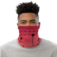 Red Palms facemask