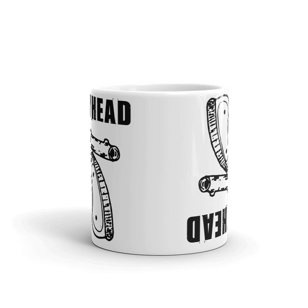Buddyhead Backwards Gun coffee mug