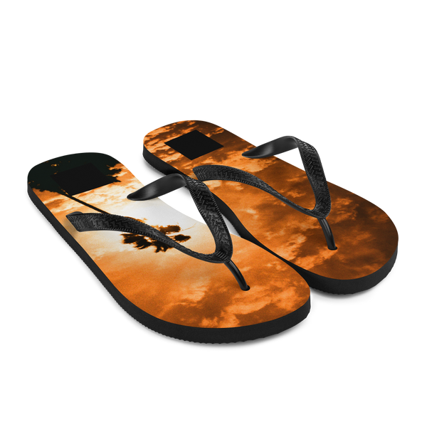 Palm Jawn Beach Bum Flip-Flops by Travis Keller