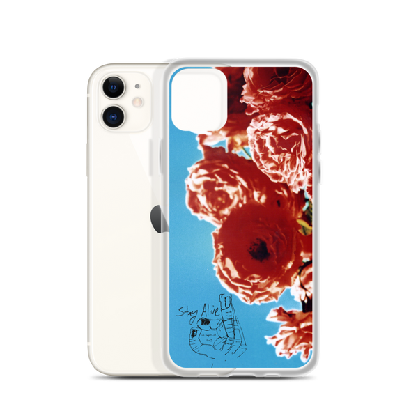Stay Alive OK / Rose iPhone Case