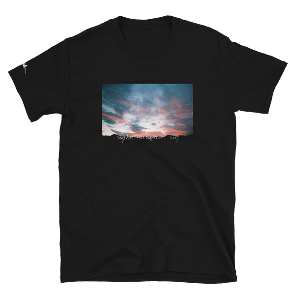 Stay Alive Desert tee by Travis Keller