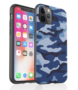 Blue Camouflage - Phone Case