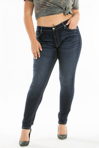 KanCan Plus Dark Wash Skinny Jeans