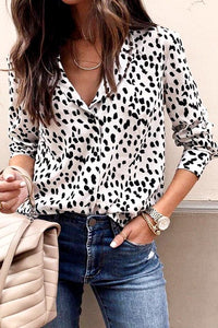 On The Prowl Button Down Top