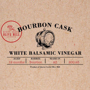 Bourbon Cask White Balsamic Vinegar