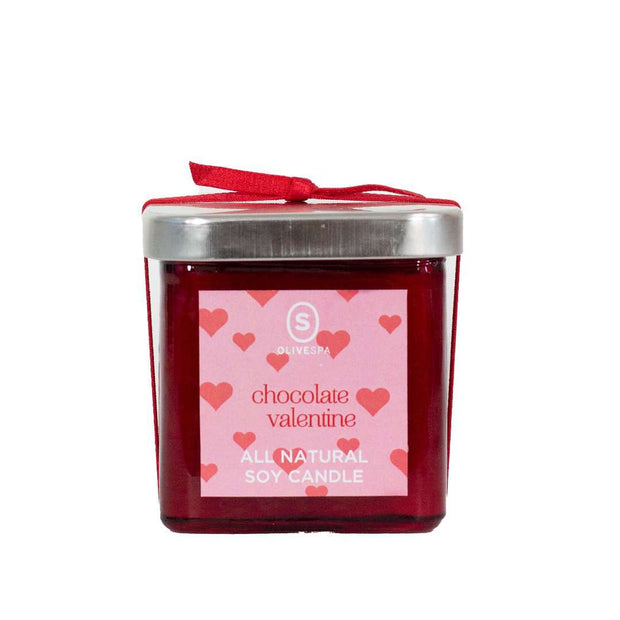 Chocolate Valentine Candle