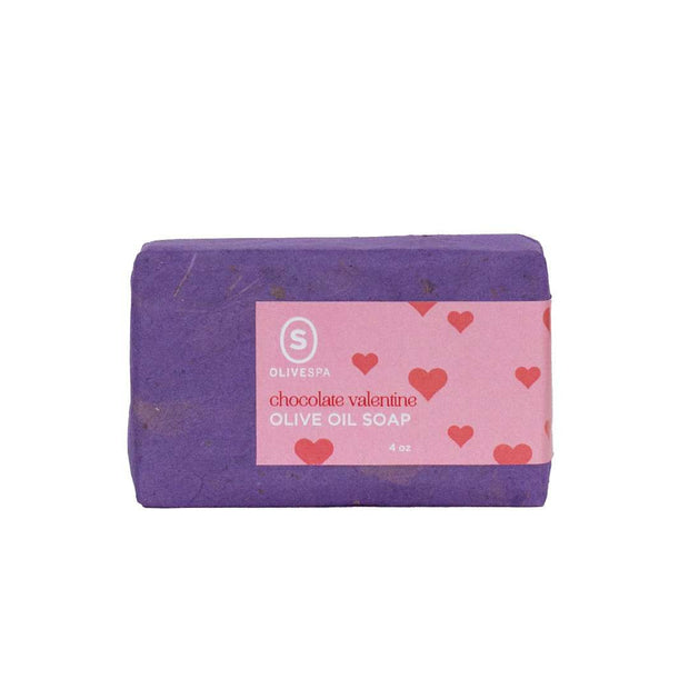 Chocolate Valentine Olive Oil Soap