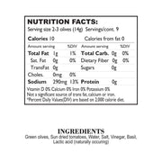 Nutrition Facts Sun Baked Tomato Basil Stuffed Olives