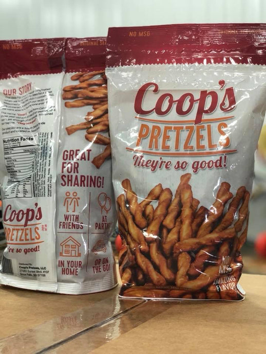 Copy of Copy of Coop's Pretzels-16oz-6 pack