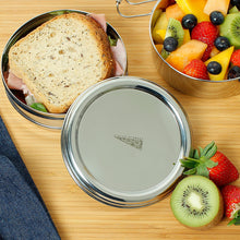 Two Tier Round Lunch Box