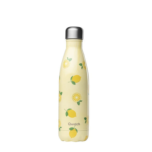 Stainless Steel Bottle - 500ml - Lemons