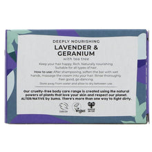 Alternative Lavender and Geranium Hair Shampoo Bar 95g