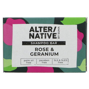 Alternative Rose and Geranium Hair Shampoo Bar 95g