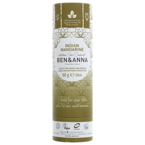 Ben and Anna Deodorant - Indian Mandarin  60g
