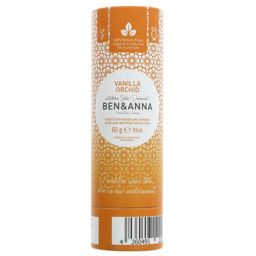 Ben and Anna Deodorant - Vanilla Orchid  60g