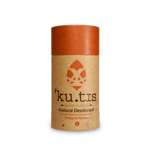 ku.tis Natural Deodorant in Orange & Patchouli