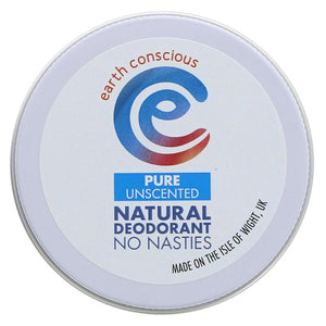 Natural Vegan Deodorant : Pure 60g