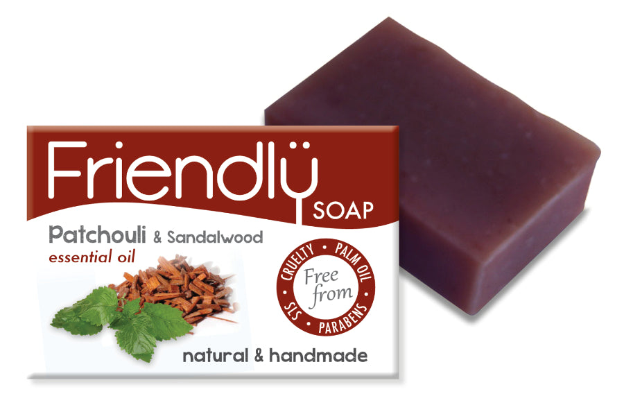 Patchouli and Sandalwood Soap -  95g