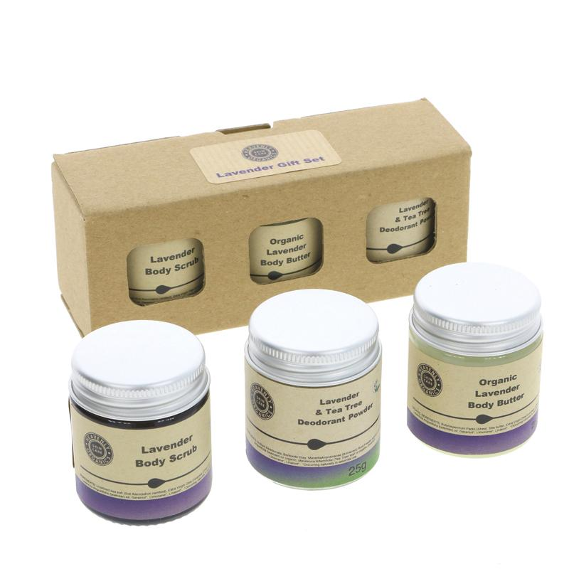 Heavenly Organics Skin Care Lavender Gift Set