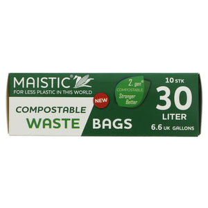 Maistic Bin Liner 30l - Compostable - 10 bags