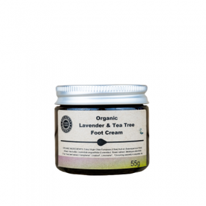 Heavenly Organics Lavender & Tea tree foot cream