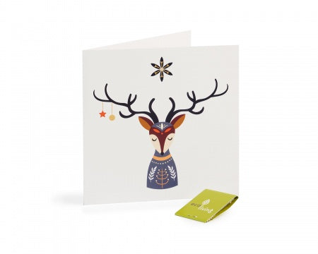 Recycled Christmas Cards -Scandinavian Folk(FSC 100%)