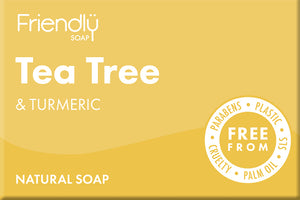 Tea Tree and Turmeric -  95g