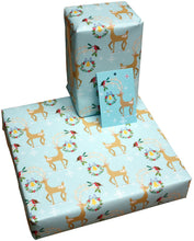 Recycled Wrapping Paper - Christmas Reindeer
