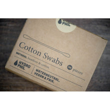 Cotton Swabs/Buds - Pack of 100 - Bamboo and Cotton