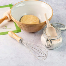 Whisk with Wooden Handle