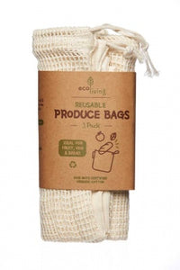 Organic Produce Bags and Bread Bag