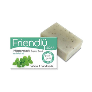 Peppermint and Poppy Seed Soap -  95g