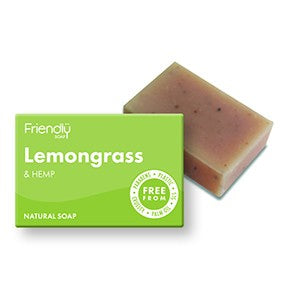Lemongrass and Hemp Soap -  95g