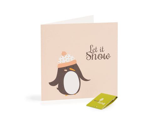 Recycled Christmas Cards - Eco Earth (FSC 100%) Penguin