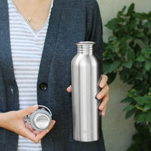Plastic Free Stainless Steel Bottle - 1l