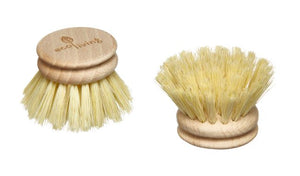 Wooden Dish Brush Head Replacement - Tampico Bristles