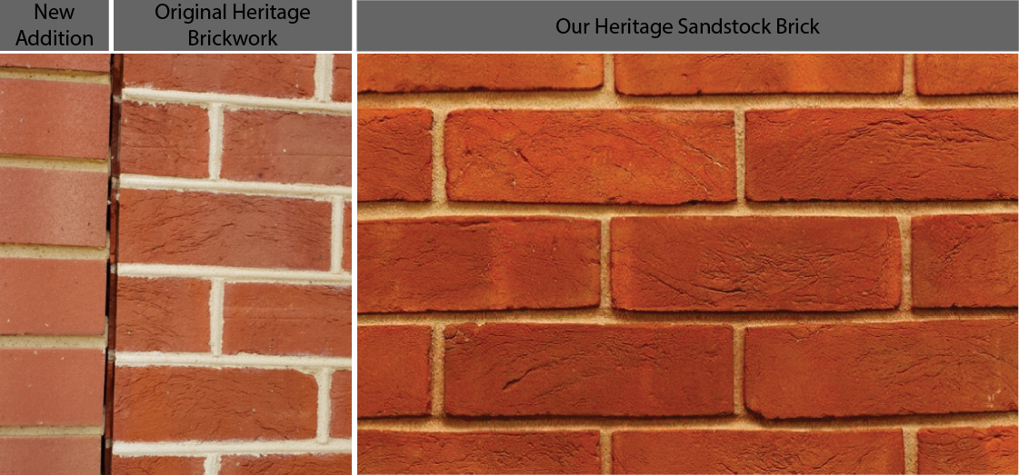 Heritage brickwork, getting it right and getting it wrong.