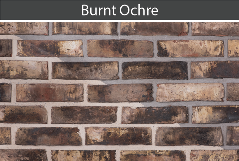 Burnt Ochre Brick and Brick Tile