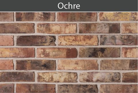 Ochre Brick and Brick Tile