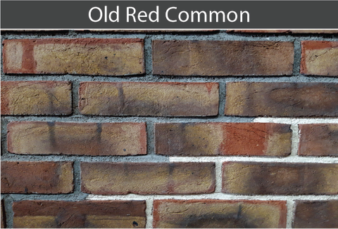 Old Red Common Brick and Brick Tile