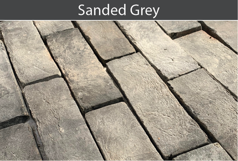 Sanded Grey Brick and Brick Tile