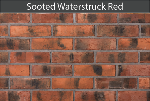 Sooted Waterstruck Red Brick and Brick Tile