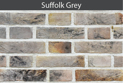 Suffolk Grey Brick and Brick Tile