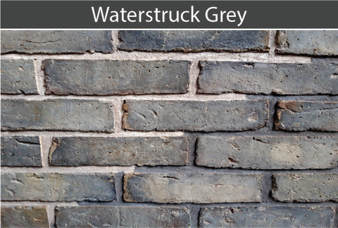 Waterstruck Grey Brick and Brick Tile