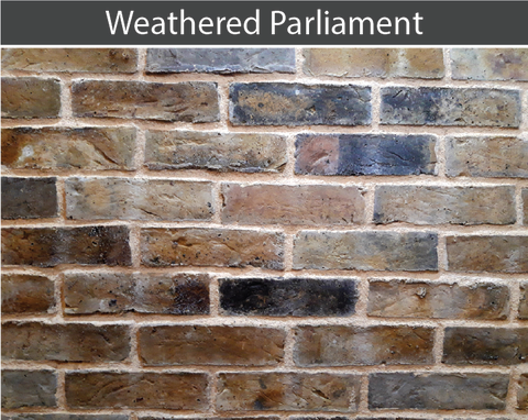 Weathered Parliament Brick and Brick Tile